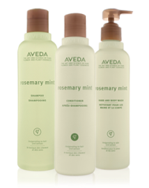 1. Aveda rosemary mint shampoo and conditioner